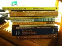 9 used or good condition paperback college textbooks!