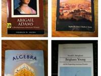 I have 3 college text books for sale. Here is what I