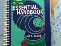 COLLEGE TEXTBOOKS - THE LITTLE BROWN ESSENTIAL