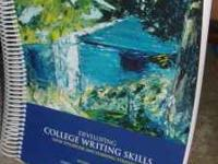 Im selling a Writing Textbook or Pre-English. Great