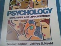 Second Edition Jeffrey S. Nevid; Psychology (Concepts