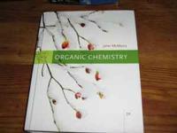 Organic Chemistry by John McMurry. ISBN-13: