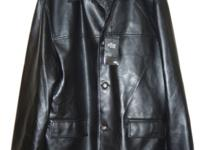 Collezione Reporter RDG Milano Men's Black FAUX Leather