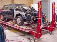 R&F Motors LLC. Collision Repair work Facility performs