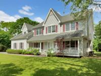 Beautiful Large Center Hall Colonial With Atrium