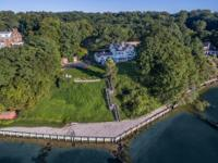 Spectacular Waterfront Estate On Just Shy Of 2 Acres.