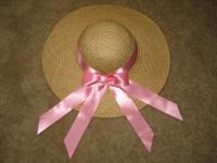 "Two Brand New ""Hand Made"" Straw Hats from Colonial"