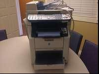 Konica Minolta magicolor 2490MF color laser printer in
