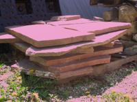 Pallet of Colorado Sandstone Perfect for patios