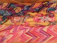 Lightweight, soft fabric scarves... Measures approx. 62