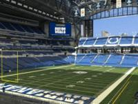 Colts tickets for sale:  Section 223 Row 9 Seats 3 and