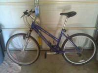 It's a ladies bike, rides great, medium frame Call