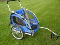 For sale is a very nice bike trailer made by Columbia.