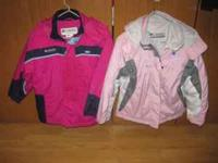 SOLD Pink Girls Columbia coat - size 14/16 $25 SOLD Dk