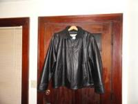 NEW COLUMBIA LEATHER JACKET $50 CALL BOB AT . Location: