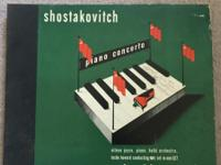 Columbia Record Shostakovitch Piano Concert album, as
