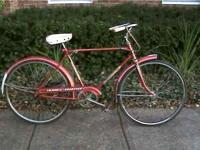 Very nice condition vintage Columbia mens bike, 3 speed