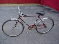 For sale is this columbia bike 3 speed $50.00 call mike