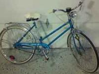 This is a 1970's bike that is still in great shape and