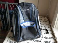 Wonderfull knapsack style nappy bag by Columbia. We