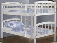 Just look at the beauty of this Columbia Bunk Bed. It