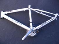 Columbia bike frame, and many parts including seats