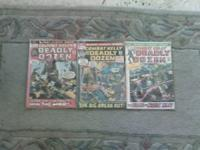 """COMBAT KELLY AND THE DEADLY DOZEN COMIC BOOKS ISSUES"