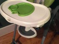 Combi Highchair 3 in 1 BARELY used. Has a removable and