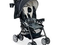 The deluxe, lightweight Combi Cabria Stroller in