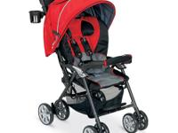The deluxe, lightweight Combi Cabria Stroller with the