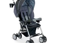 The lightweight Combi Cosmo Stroller in Graphite