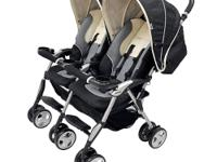 The lightweight side-by-side bi Twin Sport Ex Stroller