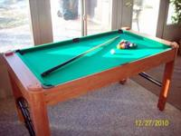 This Harvard Multigame table is in very good condition.