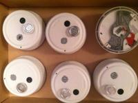 Gentex Heat/Smoke Detectors hard-wired with battery