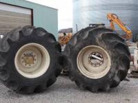 I have two goodyear 67x34x30 tires on rims good tread
