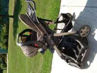 This is a nice stroller with a car seat for infant
