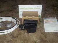 New in the box Scientific Atlanta Comcast cable modem.