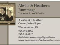 Hi Everyone, we are Alesha & Heather Rummage (WE ARE