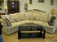 CHECK US OUT!! WE HAVE A LOVELY TWO PIECE SECTIONAL,