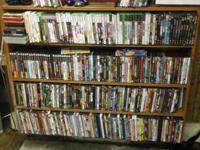 We have a huge variety of movies and computer game.