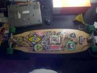 I have a comet voodoo doll longboard for sale. Deck