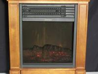 , this fireplace can be quickly moved from space to