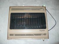 Used Comfort Glow propane heater . 28000 btu. Electric