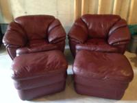 Type:Living RoomType:Leather ChairsSelling two sets of