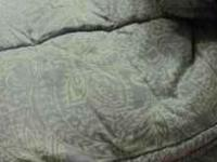 Comforter Set- king size with 2 pillow shams and bed