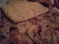 gorgeous comforter set for single bed, fresh, includes