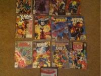 I have 17 old comic books for sale. All in great