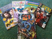I have several comic books for sale that are in mint