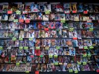 COMIC BOOK CARD & TOY STORE WAREHOUSE LIQUIDATION SALE