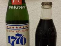 I have a COMMEMORATIVE  7up 16oz soda bottle, SOLUTES